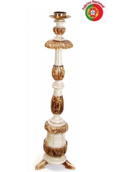 722 - Candlestick  102x26cm in Resine