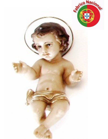 614 - Jesus Baby 15x9m in Resin