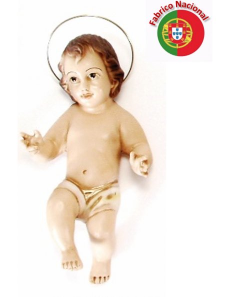 305 - Jesus Baby 20x9cm in Resin