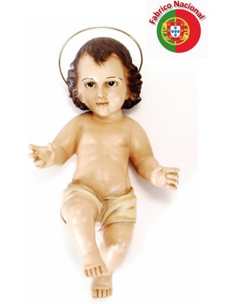 364 - Jesus Baby 25x14cm in Resin