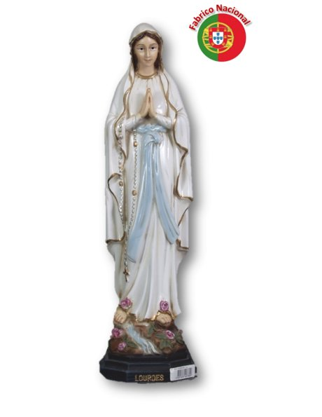 777 - Our Lady of Lourdes 36x10cm in Resin