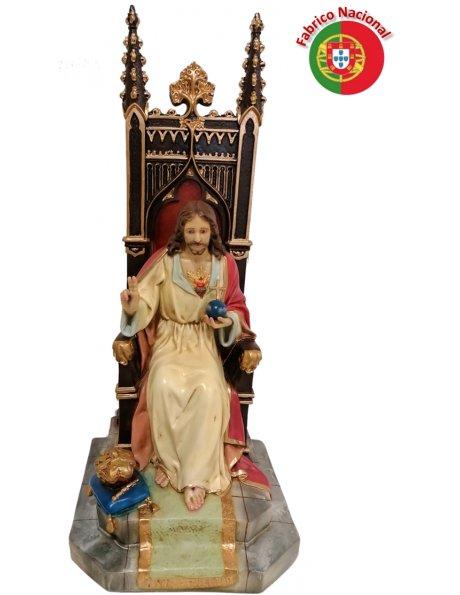 1007 - S. Coeur de Jesus 57x24,5cm  en Résine