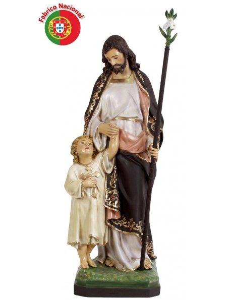 861 -  Saint Joseph 103x33cm in resine