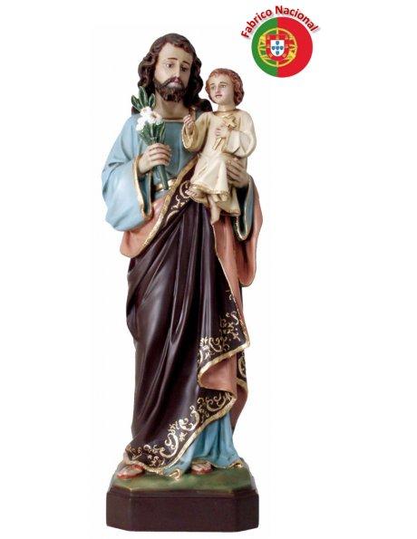 879 -  Saint Joseph 79x24cm in resine