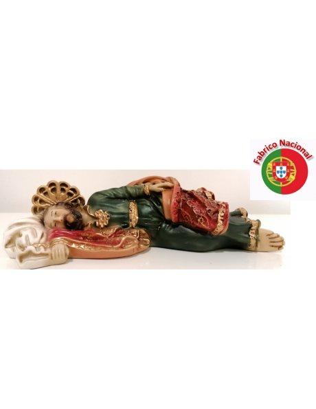 997 -  Saint Joseph sleeping 5x20cm in resine