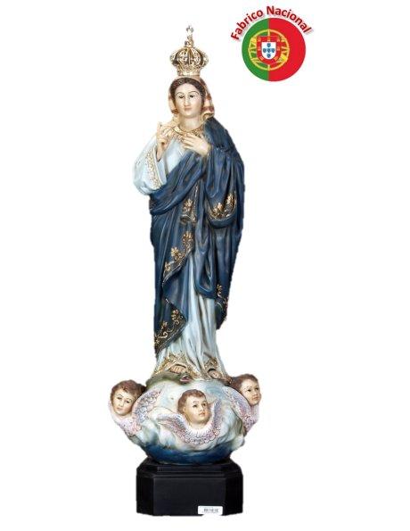 798 - Nª Srª do Sameiro 83x26cm em Resina