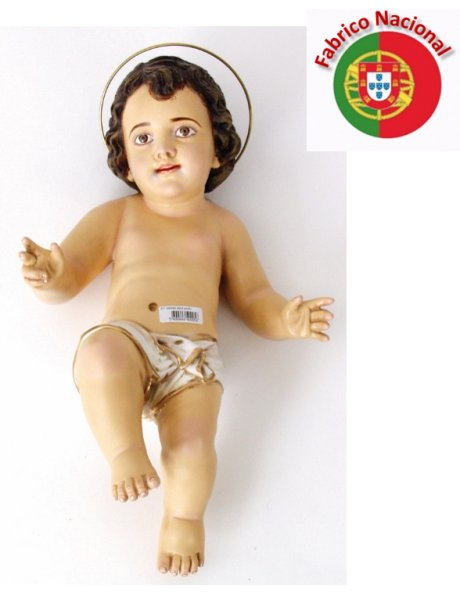 871 - Jesus Baby 44x25cm in Resin