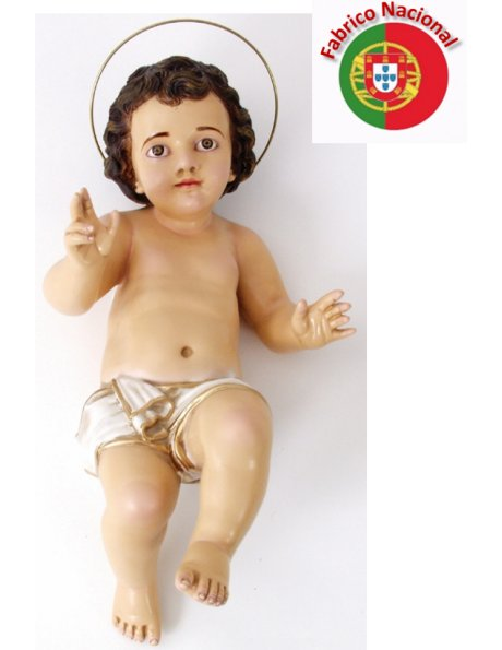 870 - Jesus Baby 50x25cm in Resin