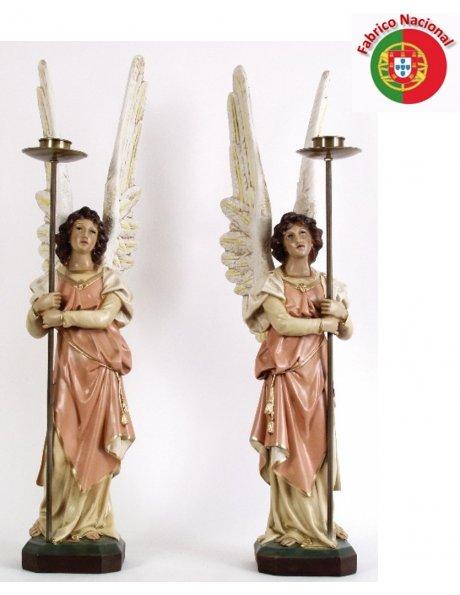 876 - Ange Gardien 87x16,50cm en Résine