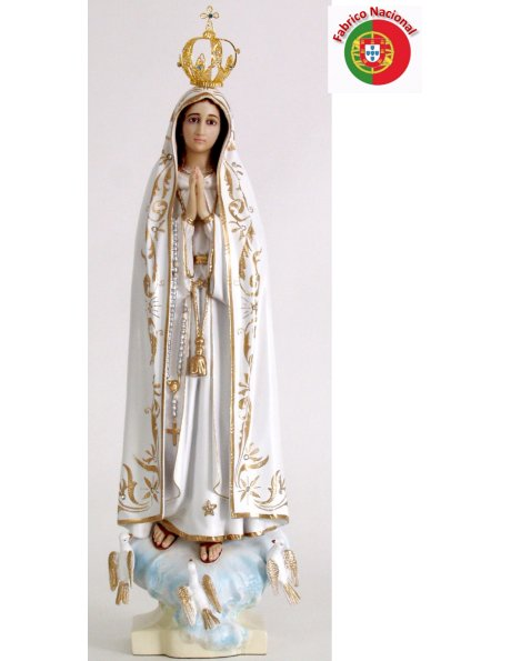 951 -  Our Lady of Fátima 68x14cm in resine