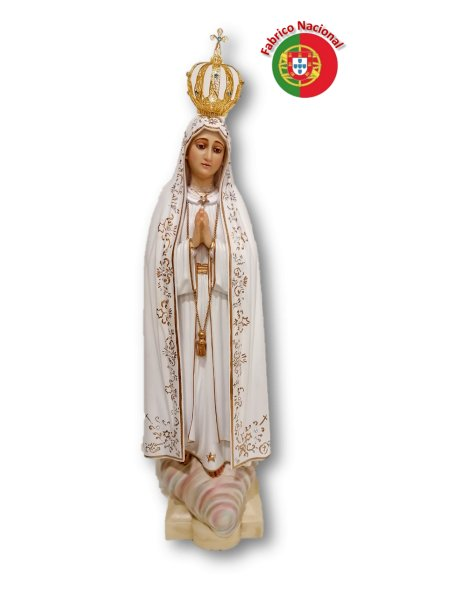 1000 -  Our Lady of Fátima 69x15cm in resine