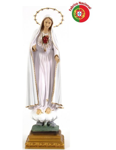 853 - S. Heart of Mary 56x17cm  in Resine