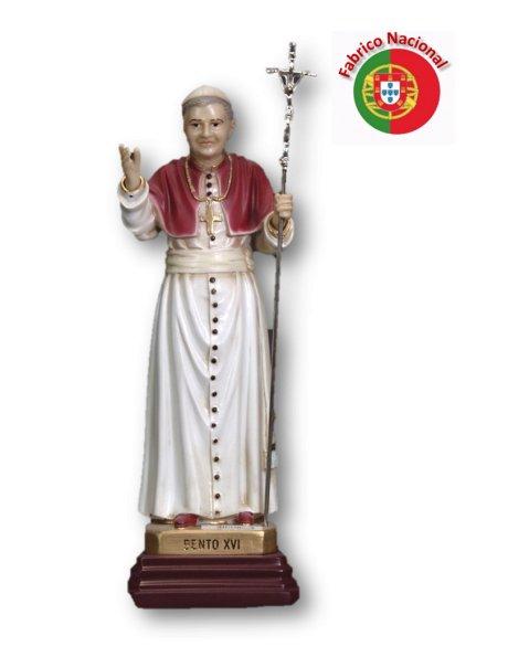 781  -  Pope Bento XVI 32x12cm in Resine