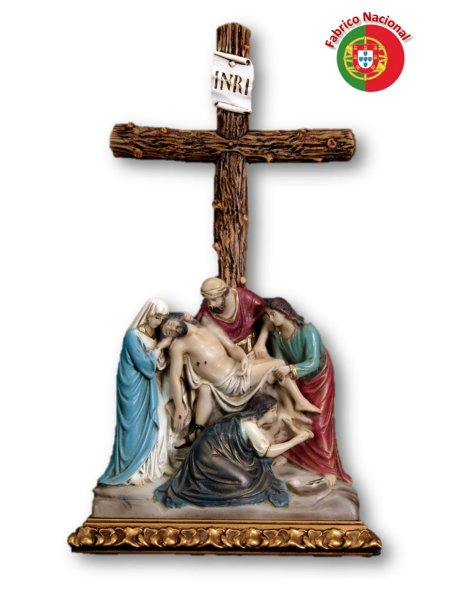 788  - Passion of Christ 53x30cm in Resine