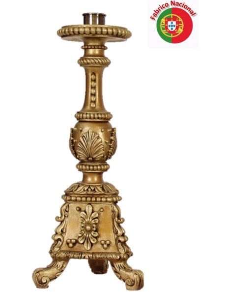 933 - Candlestick  60x18cm in Resine