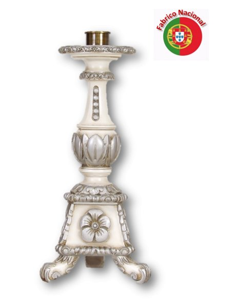 932 - Candlestick  50x15cm in Resine