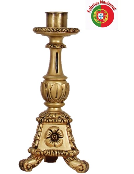 931 - Candlestick  40x12cm in Resine