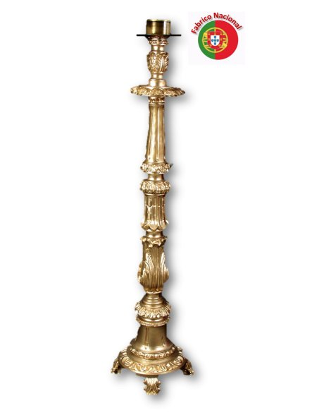 782 - Candlestick  134x26cm  in Resine