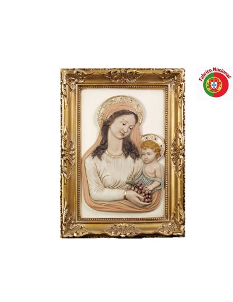 807 - Love of Mother 60x44cm in resine