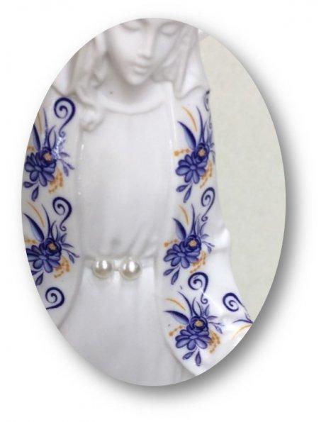 Miraculous White w/Flowery Design 16cm