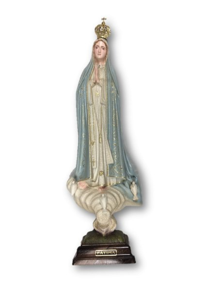 1041/G - Our Lady of Fátima Granited 44cm with Painted eyes