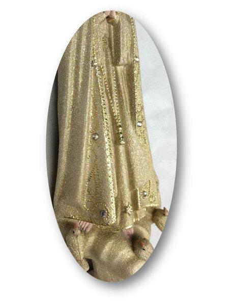 1013/GD - N. D. de Fatima Granité Doré 21cm