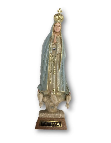 1011/G - Our Lady of Fátima Granited 11cm with Painted eyes