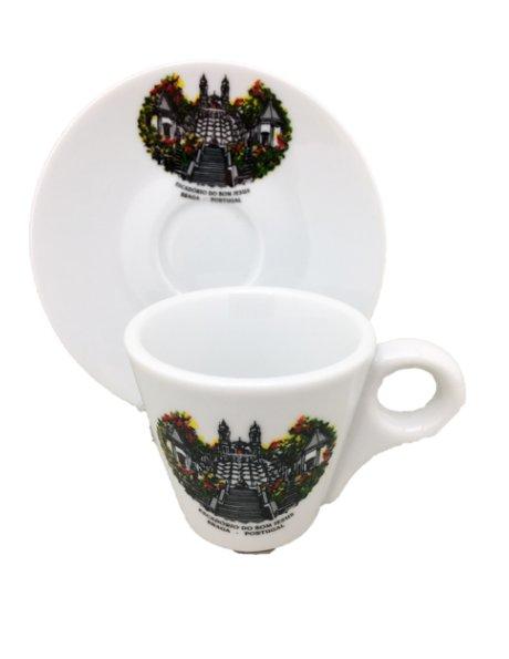 253 -  Tasse a café 6xØ6,50cm  avec soucoupe