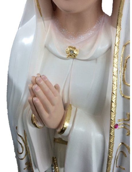 1039/P - Our Lady of Fátima 95cm with Crystal eyes